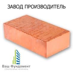 кирпич м-100 полнотелый