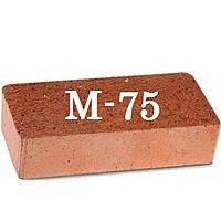 Кирпич рядовой м-75 полнотелый