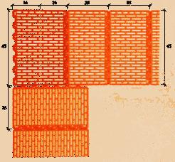 Керамический блок LeierPlan 45